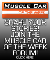 Muscle Car Of The Week Forum